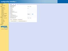 Configuration Identity 1-login