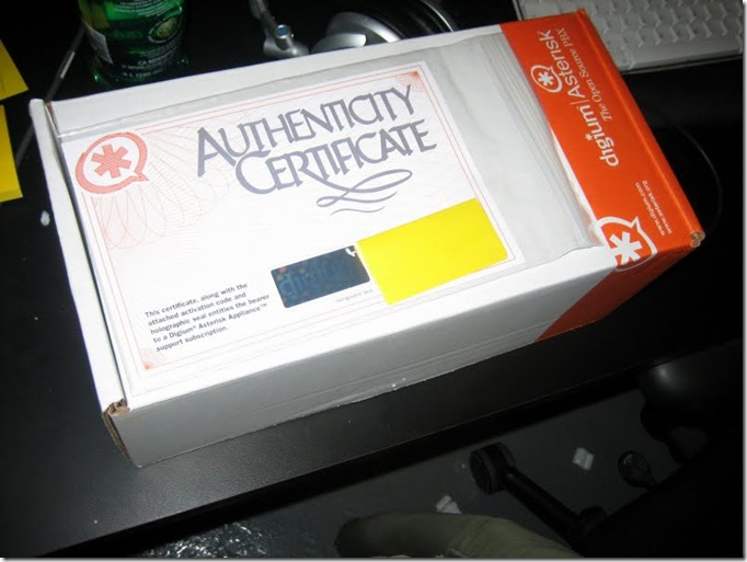 Asterisk Appliance Unboxing (1)