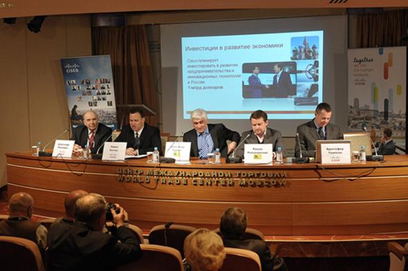 Пресс-конференция ciscoexpo 2011