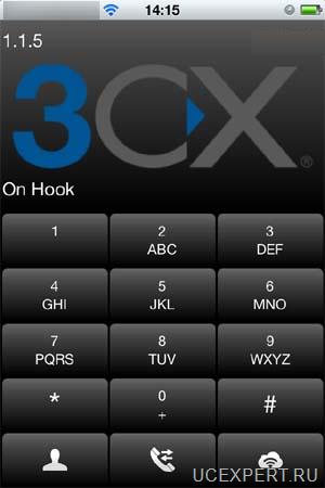 3CXPhone для мобильных устройств на базе Android и iOS