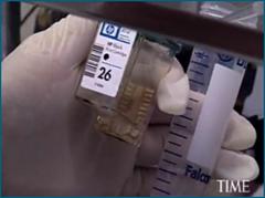 На модифицированном струйном принтере можно распечатывать клетки человеческих тканей