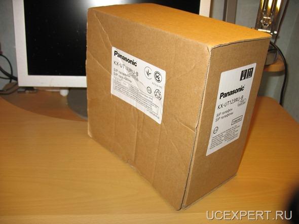 Рис.Коробка Panasonic KX-UT123RU-B