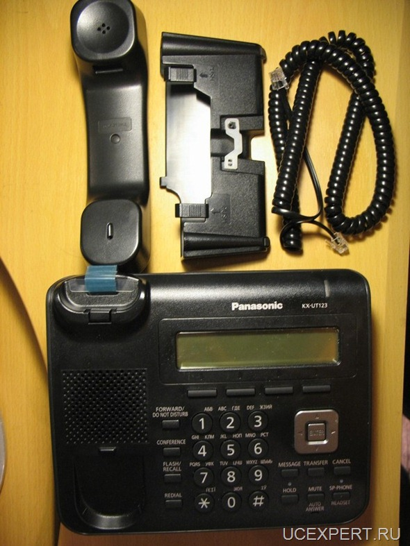 Рис. Комплект  Panasonic KX-UT123RU-B