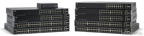 Cisco 200 серия коммутаторов