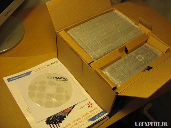 Внутри упаковки. Yealink W52P