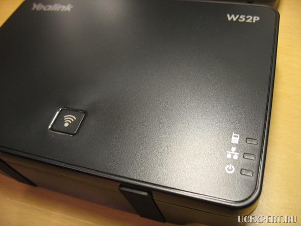 Вид базы Yealink W52P
