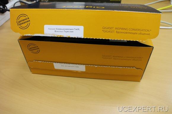 Siemens Gigaset A510IP. Упаковка и комплектаация