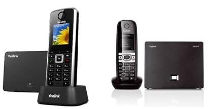 VoIP-DECT: Yealink W52H, Siemens Gigaset C610IP