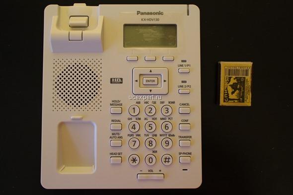 Размер телефона Panasonic KX-HDV1XX