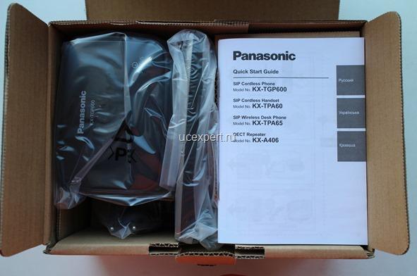 Рис. Упаковка Panasonic KX-TGP600