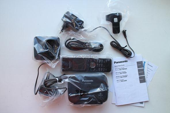 Рис. Комплект Panasonic KX-TGP600