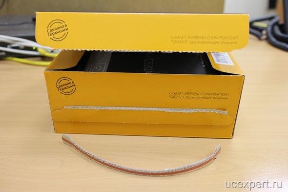 Вскрытая коробка Siemens Gigaset C530A IP